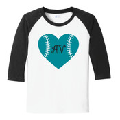 Girls Raglan Shirt