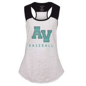 Girls Burnout Raglan Tank