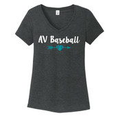 Ladies V-Neck Tri-Blend