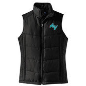 Ladies Puffy Vest - Ladies Puffy Vest